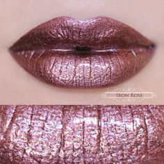 A rich and pigmented metallic rose with burgundy undertones. Iron Rose is a highly reflective and multidimensional pigment.  #2! Also buying this!