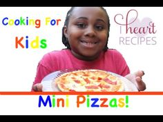Mini Pizzas by son Gio : Cooking For Kids - I Heart Recipes