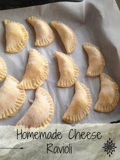 Homemade Cheese Raviolis