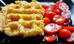 Macaroni & Cheese Waffles.  How fun!