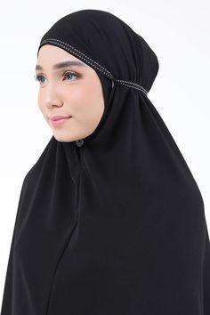 Black Abayas, Hijab Fashion, Black, Black People