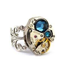 Amiee.   Steampunk Ring.  In love with all things mechanical