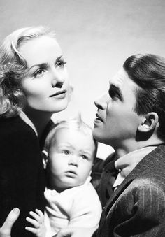 Carole Lombard & Jimmy Stewart in Made for Each Other (1939)