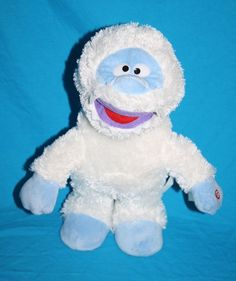 """Gemmy Singing and walking Animated Bumble Abominable Snowman Plush Doll 12"""" Rudolph He sings Holly Jolly Christmas  #Gemmy #RudolphTheRedNosedReindeer #Bumble"""