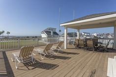 3425 Petite Circle Galveston, TX 77554: Photo What a perfect place to watch an amazing sunset while dining on the water!