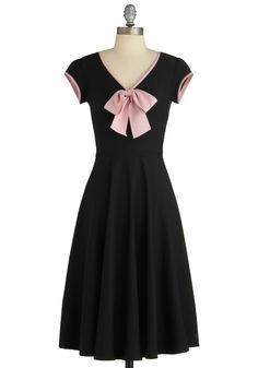 All That and Demure Dress in Midnight. This item was picked by you in our Be the Buyer Program and will be sold exclusively online at ModCloth! #black #modcloth
