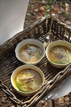 Truffelravioli in bouillon !