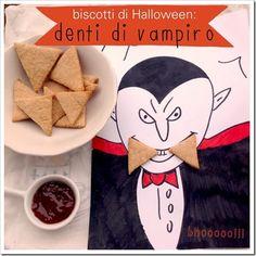 Biscotti di halloween per bambini: denti di vampiro!!!