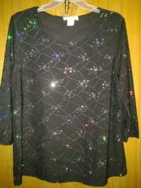 At dress barn for woman v cute top size 1xlarge free ship for $16.99