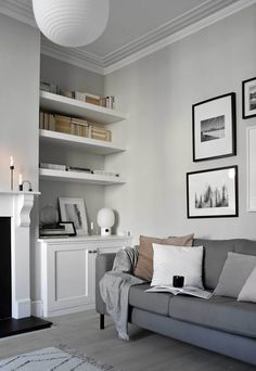Home Decoration Ideas Rustic .Home Decoration Ideas Rustic Room Makeover, Home Living Room, Living Room Color, Living Room Shelves, Living Room Makeover, Living Room Diy, Alcove Ideas Living Room, Cosy Living Room, Victorian Living Room