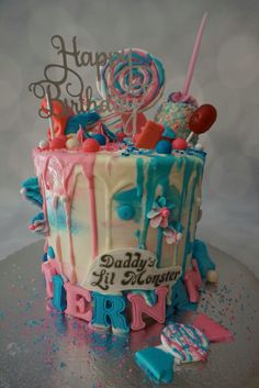 Harley Quinn Cake Suicide Squad Cake Daddy's Lil Monster Cake