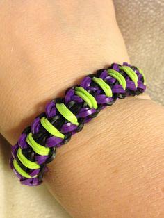 Warrior rainbow loom bracelet