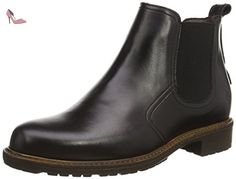 Marc O'Polo Chelsea Boot, Bottes Chelsea courtes, doublure froide femme, Noir (990 Black), Taille 38 - Chaussures marc opolo (*Partner-Link)