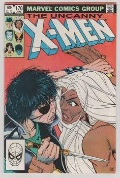 Uncanny X-Men Vol 1 170 Comic Book.  NM.  by RubbersuitStudios #rogue #xmen #comicbooks