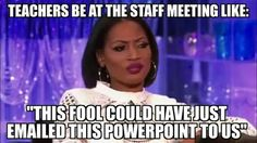 So funny and isn't this so true! Sometimes I think they just find something random to talk about to have a meeting!