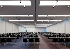 The main Conference Room of the hotel. Our movable walls allow the partitioning of this 996 m² area into smaller multiple rooms. Movable Walls, Hotel Meeting, Tourism, Conference Room, Rooms, Projects, Home Decor, Turismo, Bedrooms