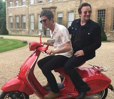 Bono and Michael Fassbender were among a host of stars who got together to celebrate Noel Gallagher& birthday at the weekend. Noel Gallagher, Oasis, U2 Tour, Larry Mullen Jr, Bono U2, Electric Scooter, Today Show, Michael Fassbender, Rock Bands