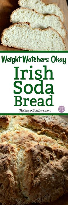 This Irish Soda Bread is Weight Watchers Okay and is also the perfect fall recipe that tastes good as well. The perfect appetizer, sandwich bread, or even special breakfast bread that is delicious and yummy! Irish Recipes, Ww Recipes, Fall Recipes, Baking Recipes, Irish Desserts, Holiday Recipes, Breakfast Bread Recipes, Easy Brunch Recipes, Sodas