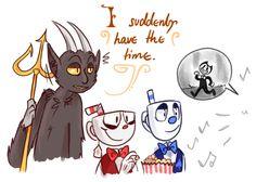 Ey devil! You ever 'eard of a certain dancing demon? A little devil darlin? Bendy T dancing demon?