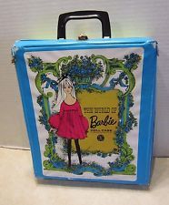 Vintage Mattel 1968 The World of Barbie Doll Case For Barbie and her Friends