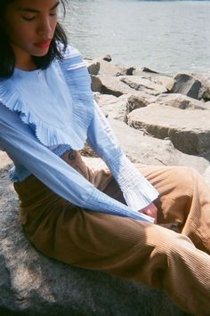 tones and textures and ruffles and cord