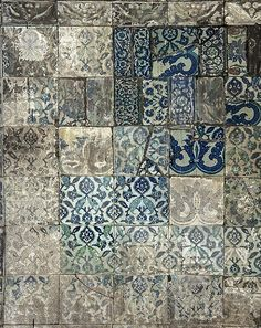 Truth of a metaphor, Old tiles from istanbul