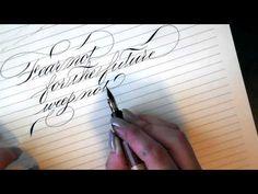 Writing calligraphy with a Desiderata Flex pen ❤ https://www.youtube.com/watch?v=T7J-yADVRY0