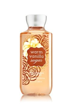 Warm Vanilla Sugar Shower Gel - Signature Collection - Bath & Body Works