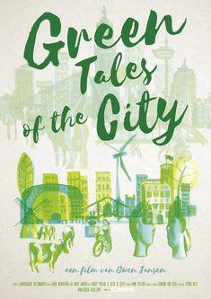 Filmposter By studio Hille / Hilda Groenesteyn Van, Studio, City, Green, Film Poster, Studios, Cities, Vans, Vans Outfit