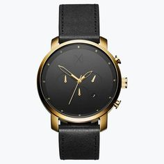 Chrono Gold/Leather