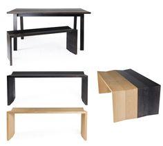 Bench Table SIX www.sandseurope.com