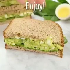 This is the BEST egg salad recipe. You will LOVE the avocado addition! You can use your leftover hard boiled eggs to make an easy, delicious, and healthy egg salad. You can eat this avocado egg salad Healthy Egg Salad, Healthy Meal Prep, Healthy Breakfast Recipes, Healthy Eating, Avocado Breakfast, Healthy Drinks, Diet Breakfast, Avocado For Breakfast, Boiled Egg Breakfast Ideas