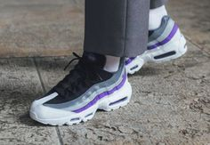 check out 87ed9 7a027 Nike Air Max 95 Essential   Grey Persian Violet   Mens Trainers  749766-110