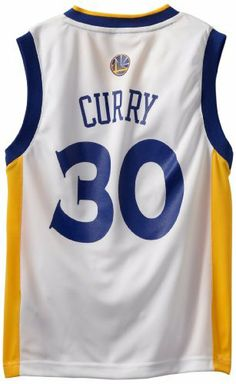 NBA Golden State Warriors Stephen Curry Youth 8-20 Replica Home Jersey by  adidas. caccea1f4