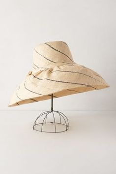 Rarotonga Sun Hat #anthrofav #greigedesign
