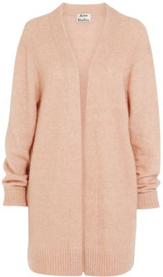 Acne Studios - Raya Oversized Knitted Cardigan - Blush