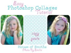 Easy Photoshop Collage Tutorial