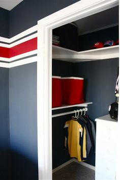Makeover Monday: Kids' Trophy Display by theyellowcapecod