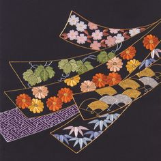 The Beauty of Japanese Embroidery - Embroidery Patterns Embroidery Stitches Tutorial, Sashiko Embroidery, Learn Embroidery, Japanese Embroidery, Embroidery Patterns Free, Japanese Fabric, Embroidery Techniques, Embroidery Kits, Embroidery Designs