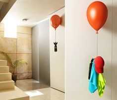 Floating Coat Rack   techlovedesign.com - this is so cool! Would love to have one