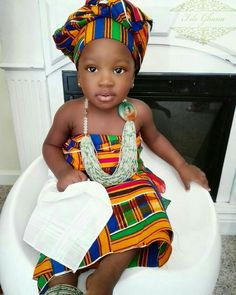 African kids young African Queen black princess