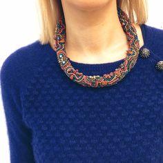 SALDI  Collana €46,60 -30%= €33 Spedizione gratuita  Info: WhatsApp 329.0010906 #manlioboutique #sales #bijoux #necklace