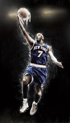 Carmelo Anthony as of now 7 time All star.  Knicks fans have one beacon of happiness. #BeMelo #TeamMelo