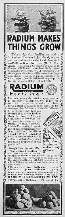 More fun with Radium