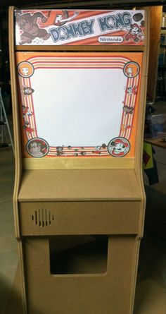 Donkey Kong scratch build, my first cabinet!