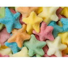 Gummy Starfish: Soft Color Candy Bar
