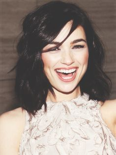 Crystal Reed>>> yup, she's perfff.