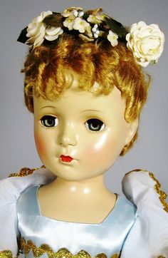 "19"" Vintage Hard Plastic Ballerina Doll ~ So Lovely"