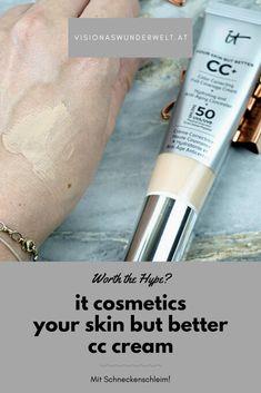 It Cosmetics Cc Cream Review, Makeup Foundation, Your Skin, Blog, German, Make Up, Beauty, Inspiration, Deutsch