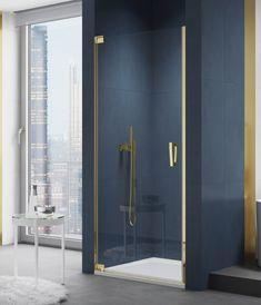 Złote drzwi prysznicowe SanSwiss Cadura. --------------- #sanswiss #projektantwnetrz #Showers #BathroomShower #prysznic #showercabin #projektowaniewnetrz #projektowaniewnetrzwarszawa #wnetrze #ikeapolska #wnetrze #architekturawnetrz Shower Cabin, Locker Storage, Door Handles, Bathtub, Pure Products, Cabinet, Furniture, Home Decor, Design